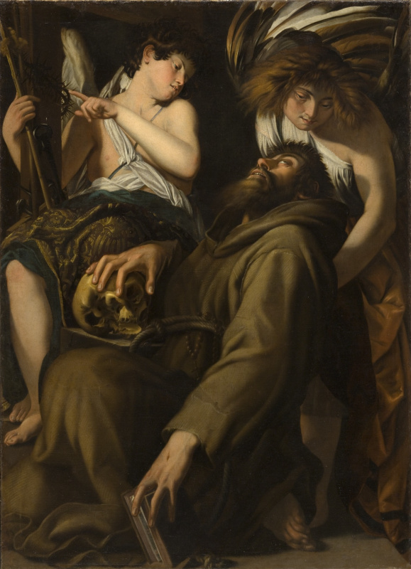 Джованни Бальоне (Баглионе). Экстаз святого Франциска
