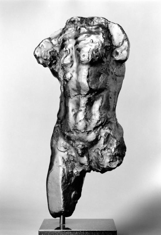 Auguste Rodin. Torso of the walking man