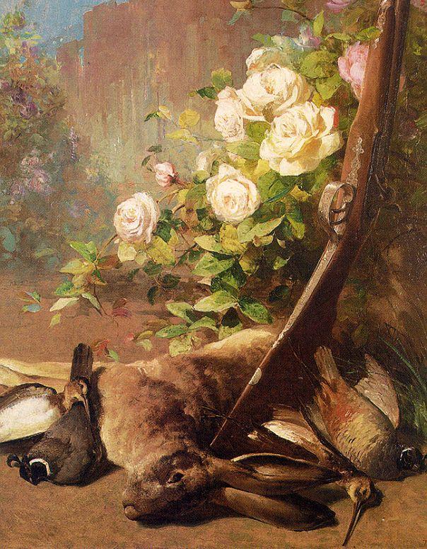 Томас Хилл. Белые розы