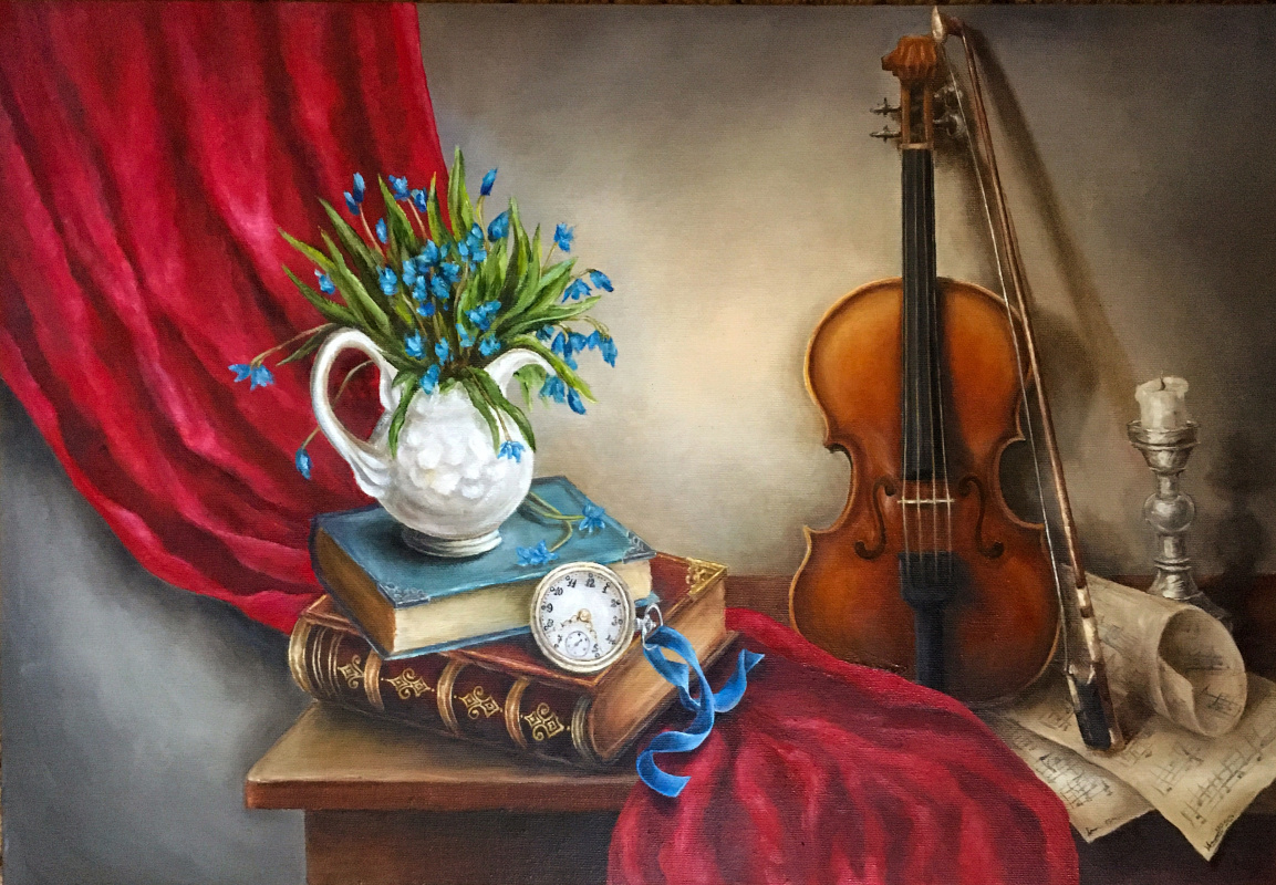 "Valerika Azamat. ""Play me, violin, tenderly about love"""
