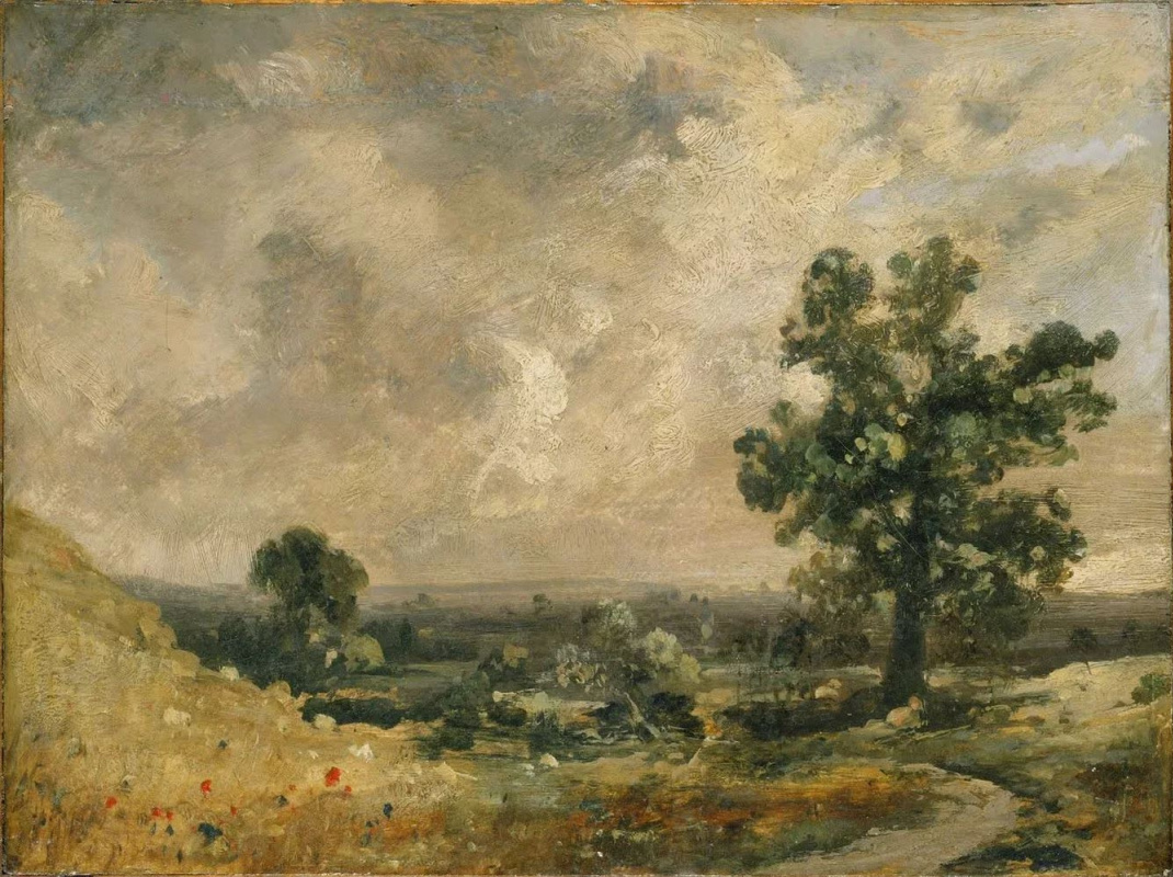 John Constable. English landscape