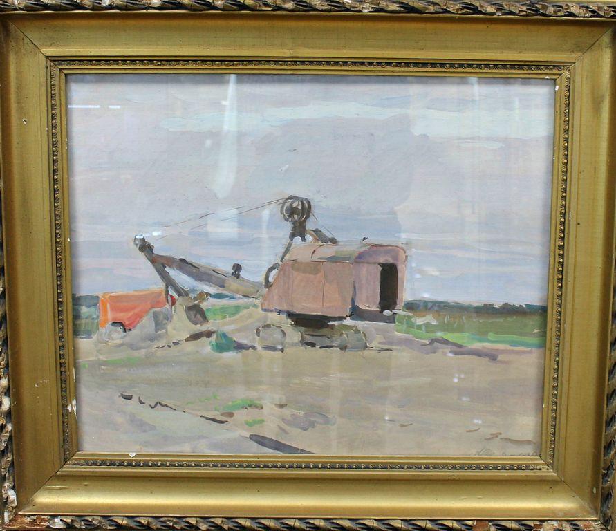 Alexander Vladimirovich Schmidt. Excavator