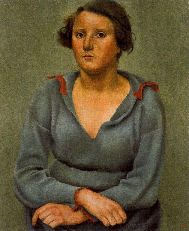 Хосе де Тогорес. Портрет женщины