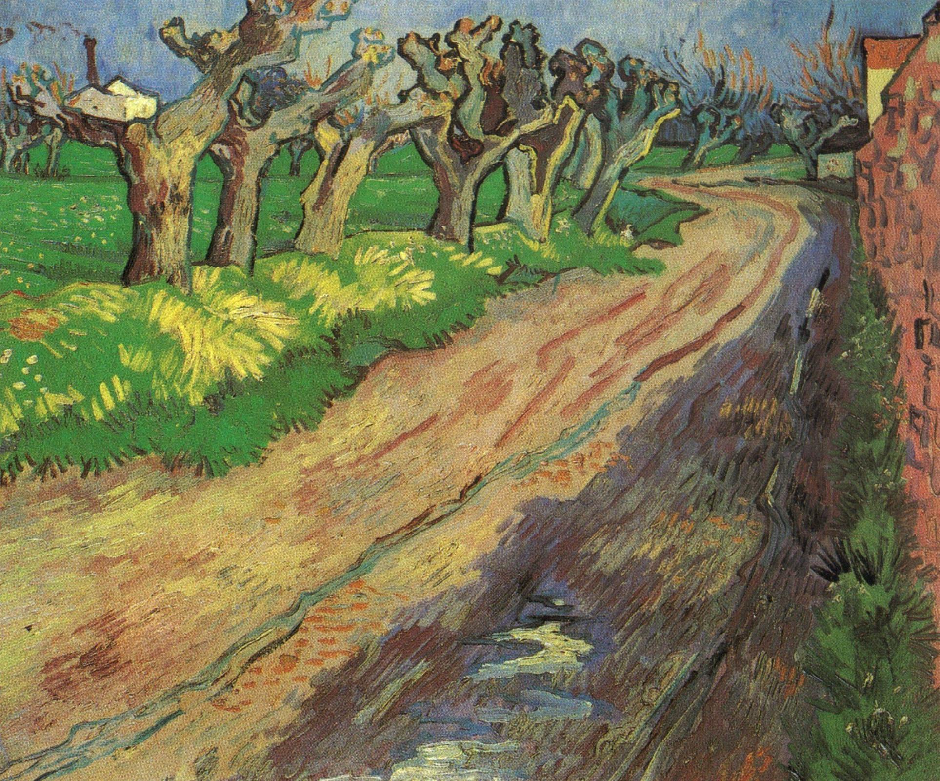 Винсент Ван Гог. Обрезанные ивы
