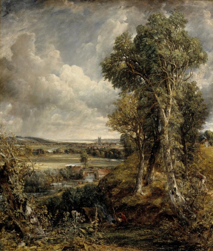 John Constable. Valley in Dedham