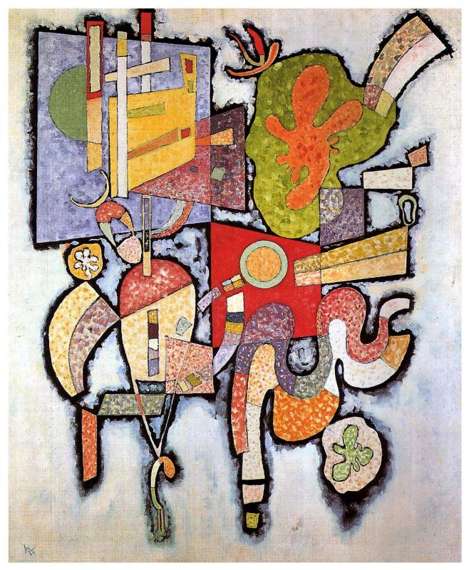Wassily Kandinsky. Complex-simple
