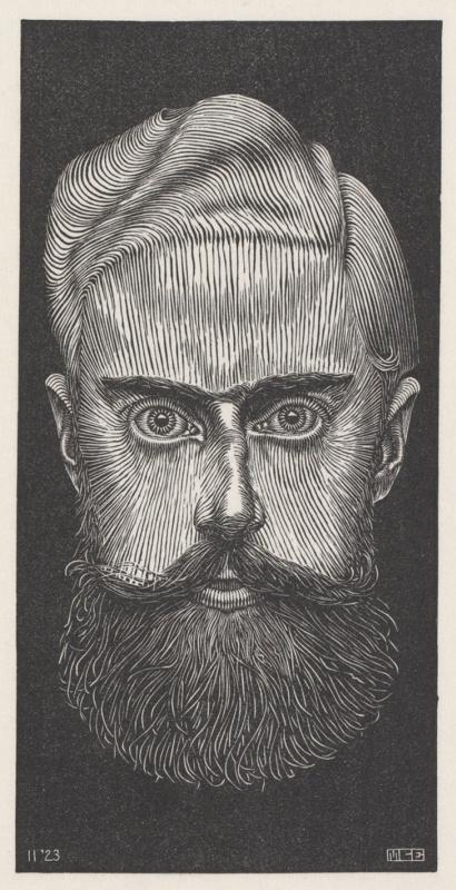 Maurits Cornelis Escher. Self-portrait