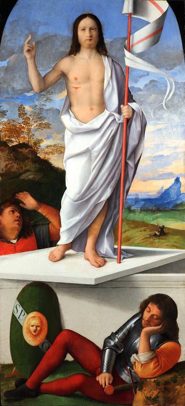 Биссоло Франческо. Воскресение Христа