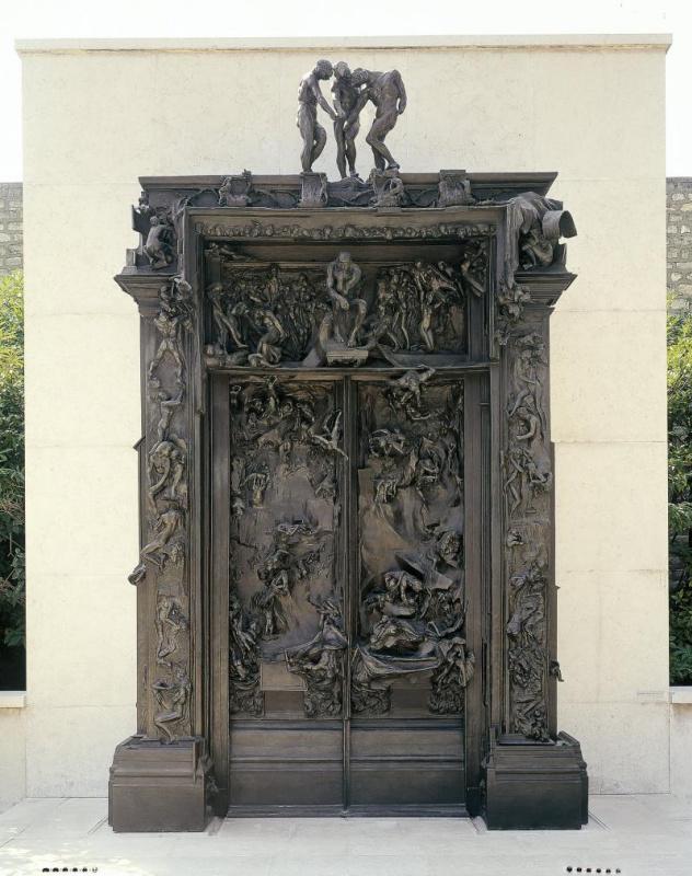 Огюст Роден. Врата ада