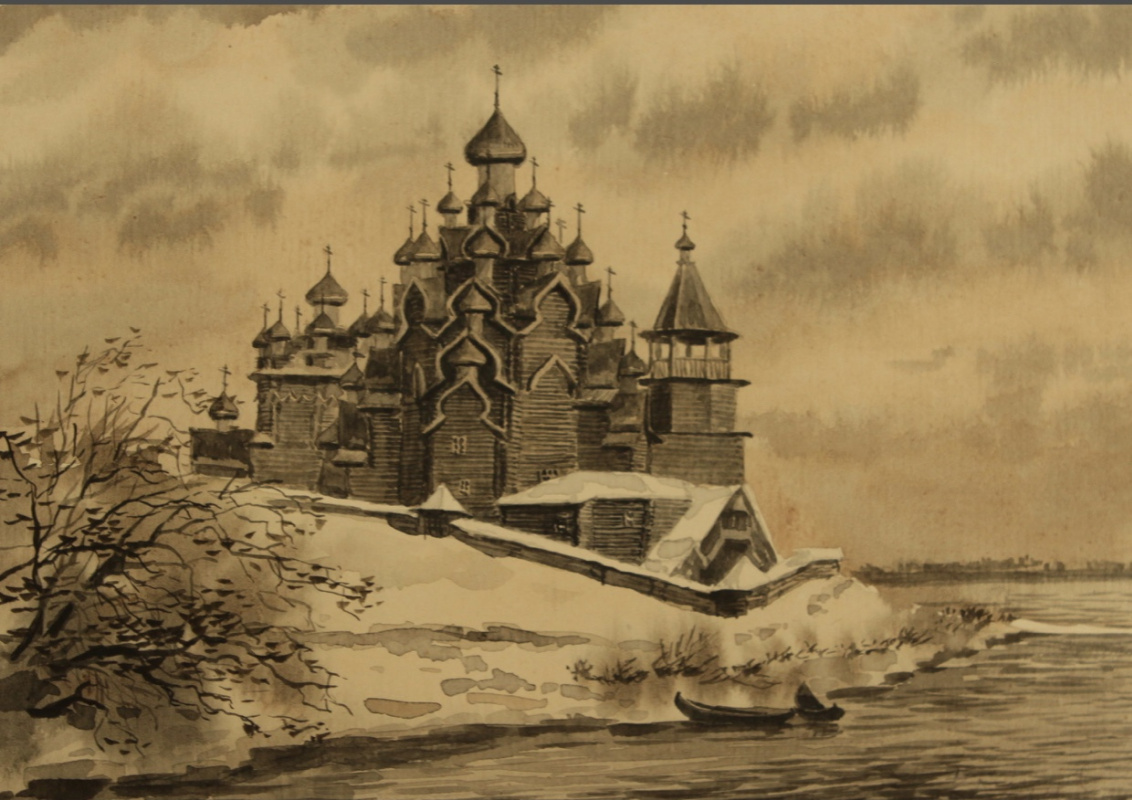 Kasim Askarovich Devletkildeev (Davletkildeev). Кижи музей