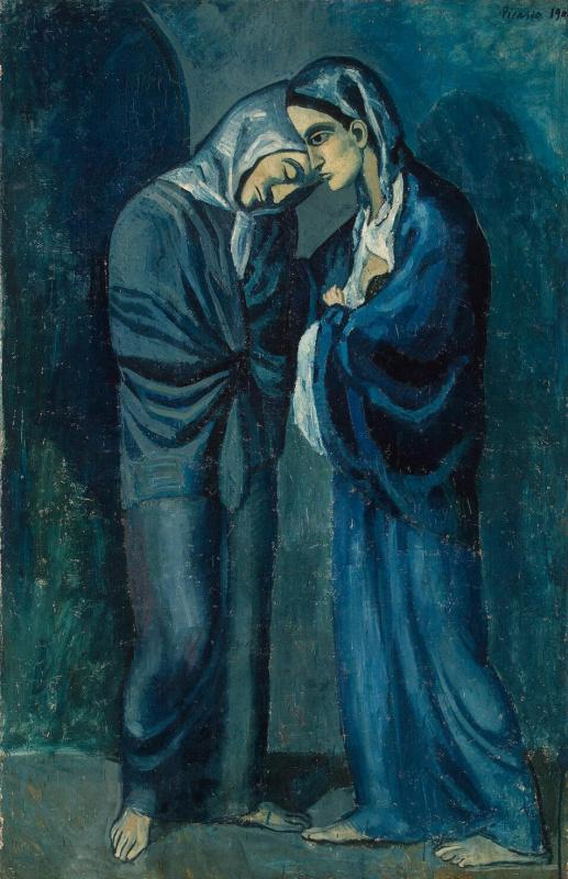 Пабло Пикассо. Две сестры