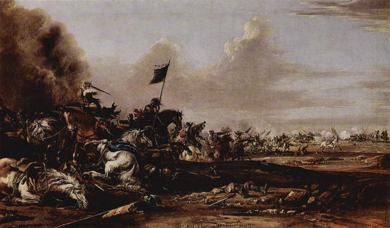 Johann Anton Eismann. Battle
