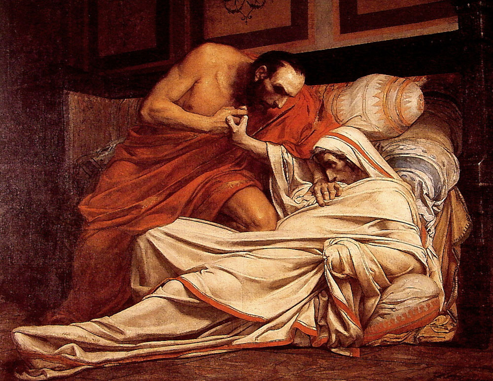 agrippina and the death of claudius