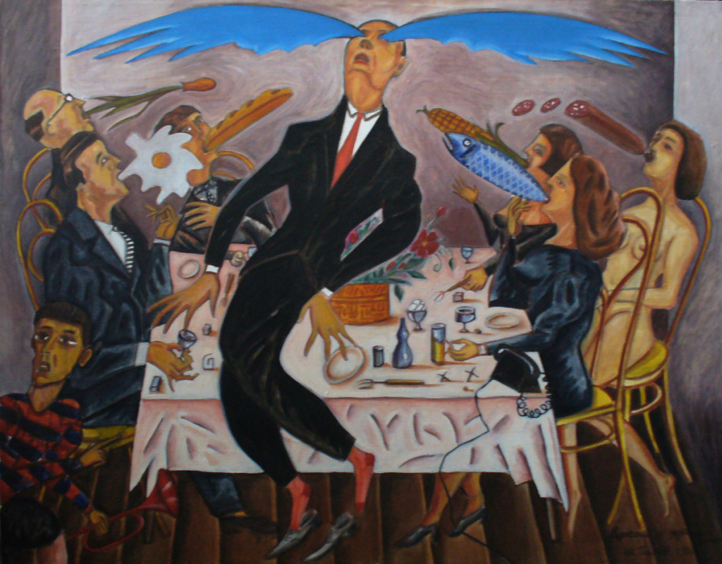 Leonid Alexandrovich Tishkov. Ascension at the dinner table