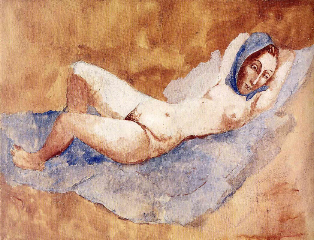 Пабло Пикассо. Лежащая обнаженная (Фернанда)