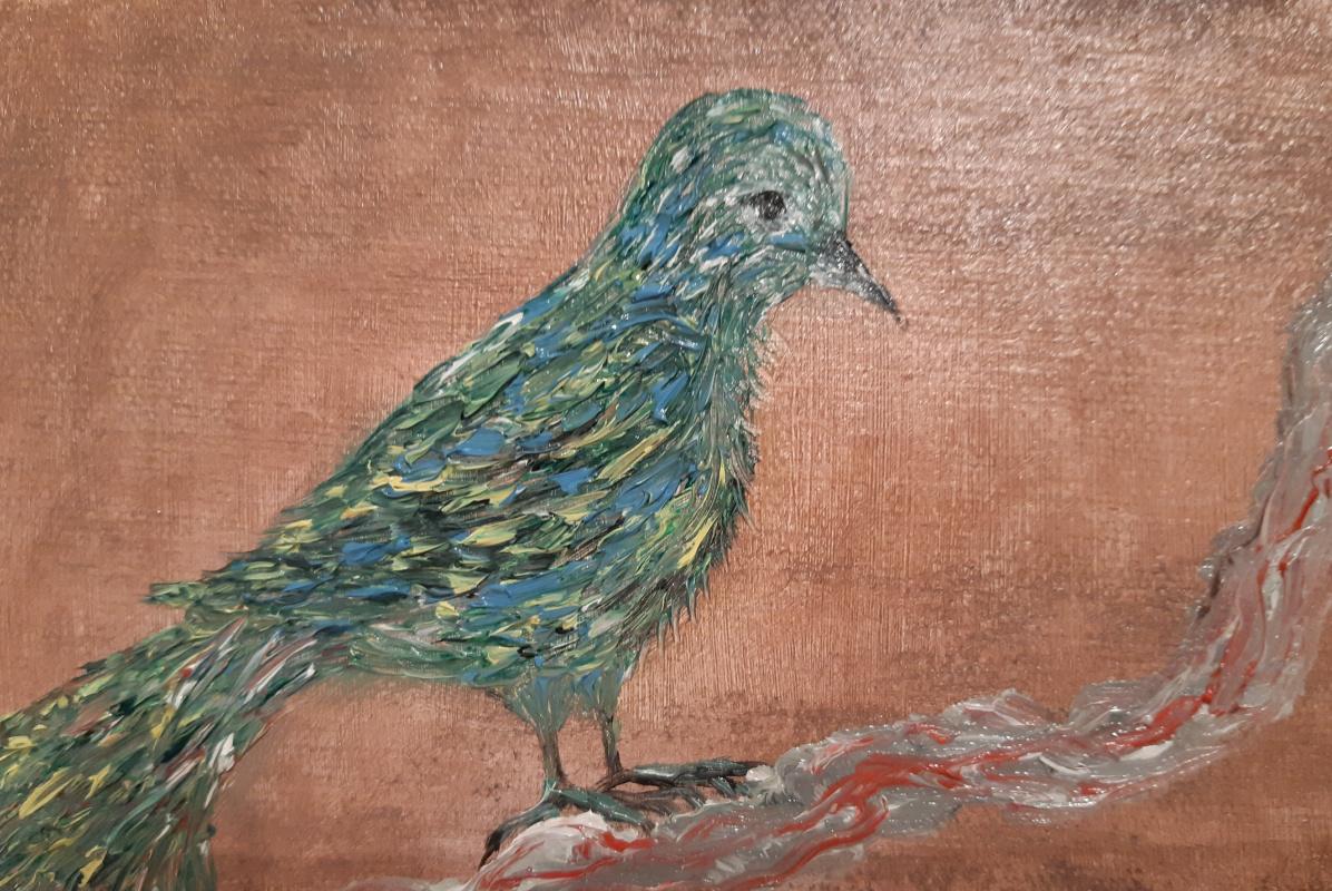 Asya Alibala gizi Hajizadeh. Птица из  сновидений