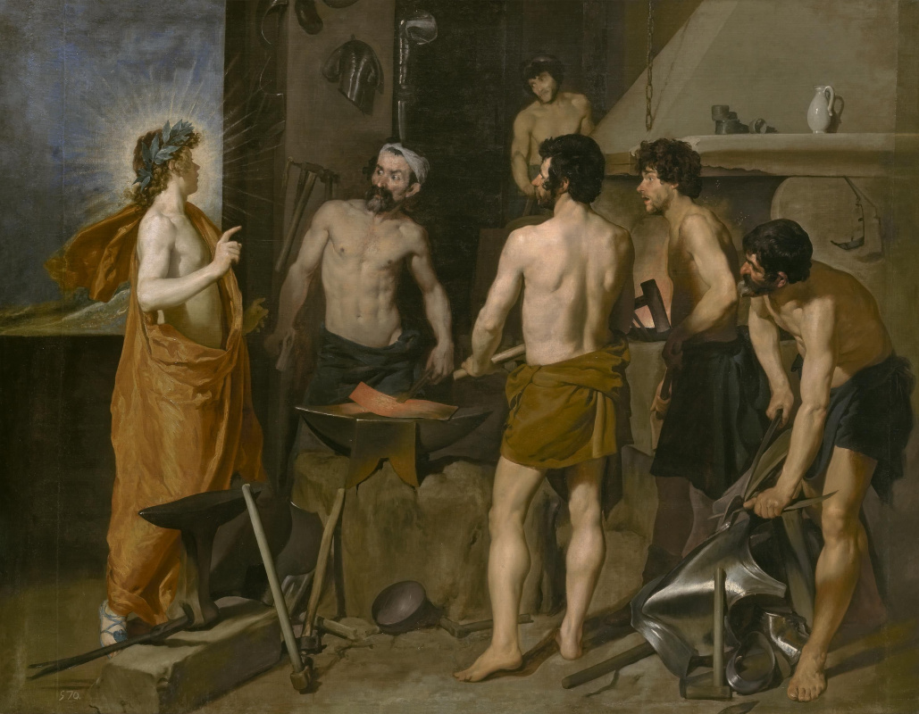 Diego Velazquez. The Forge Of Vulcan