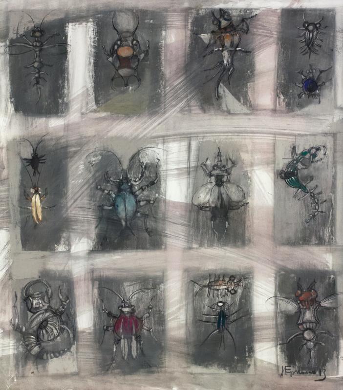 Igor Nikolaevich Ermolaev. Bagel beetles (left side)