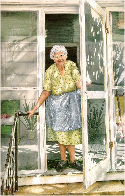 Уильям Мангам. Бабушка
