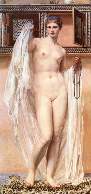 George Frederick Watts. Nude