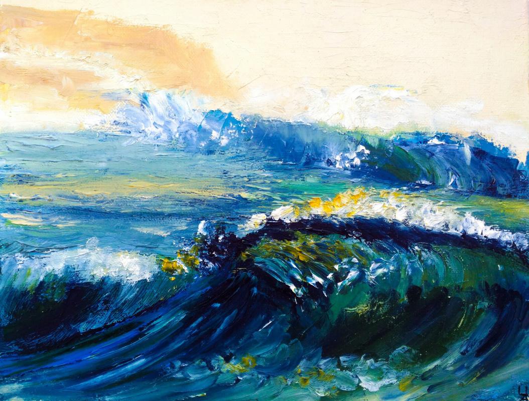 Alina Chekrygina. Wave.