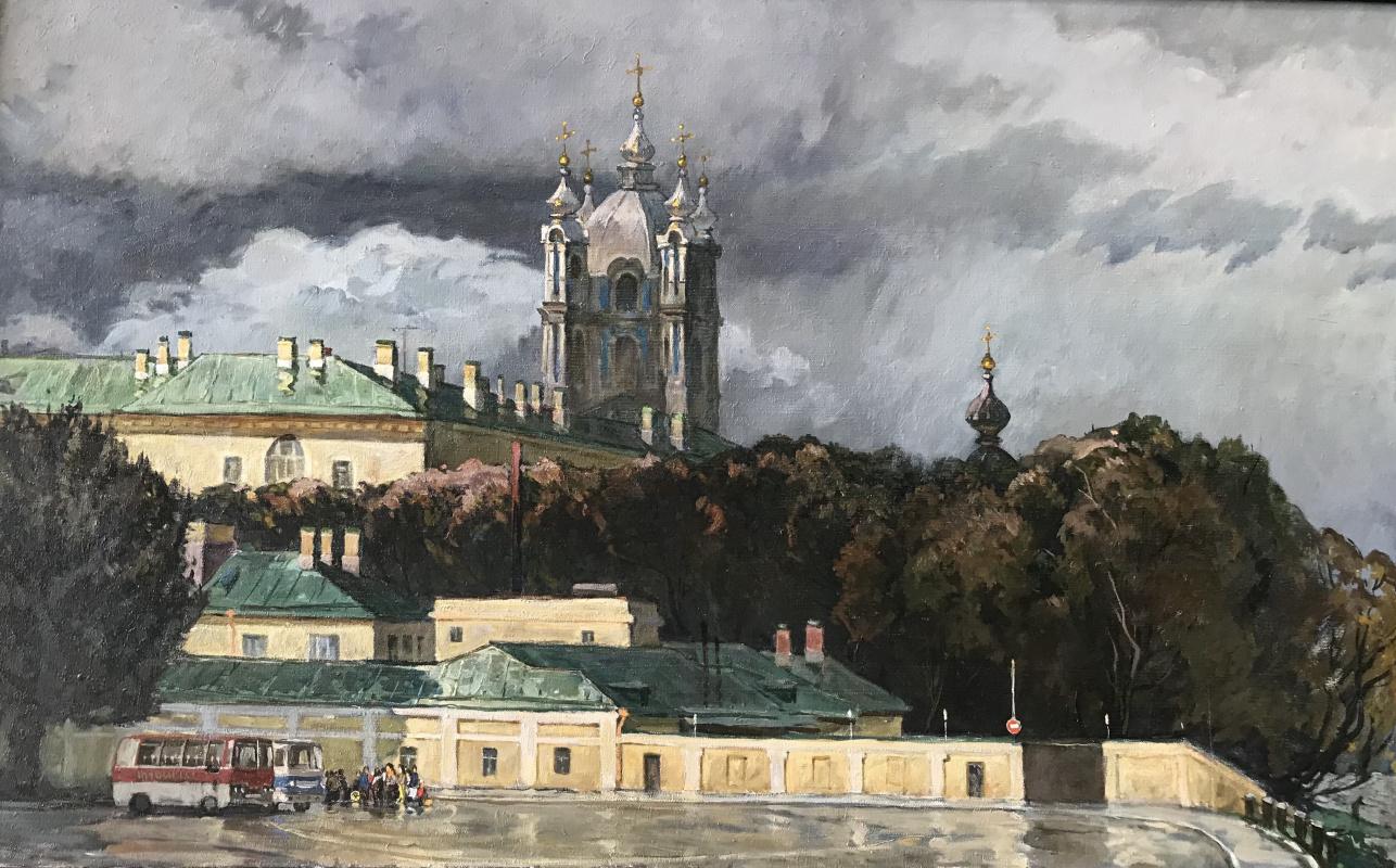 Vladimir Ilyich Ezhov. Thunderstorm over Smolny