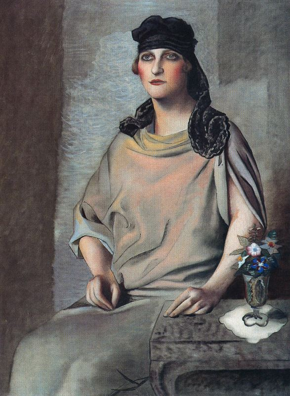 Мануэль Анджелес Ортис. Женщина и цветы