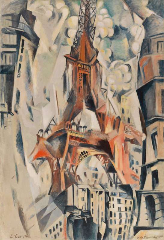 Robert Delaunay. Eiffel tower