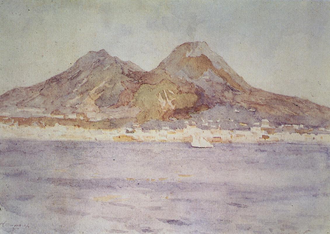 Vasily Ivanovich Surikov. Naples