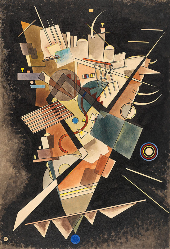 Wassily Kandinsky. Heavy Floating