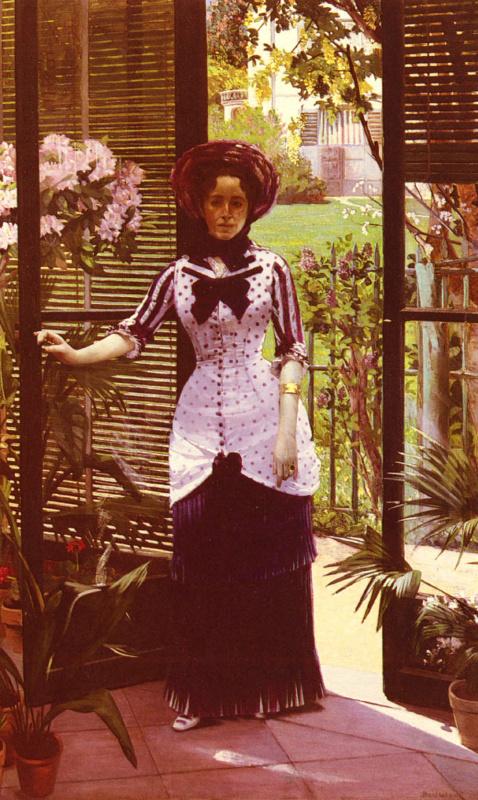 Поль Альберт Бартоломе. Портрет женщины