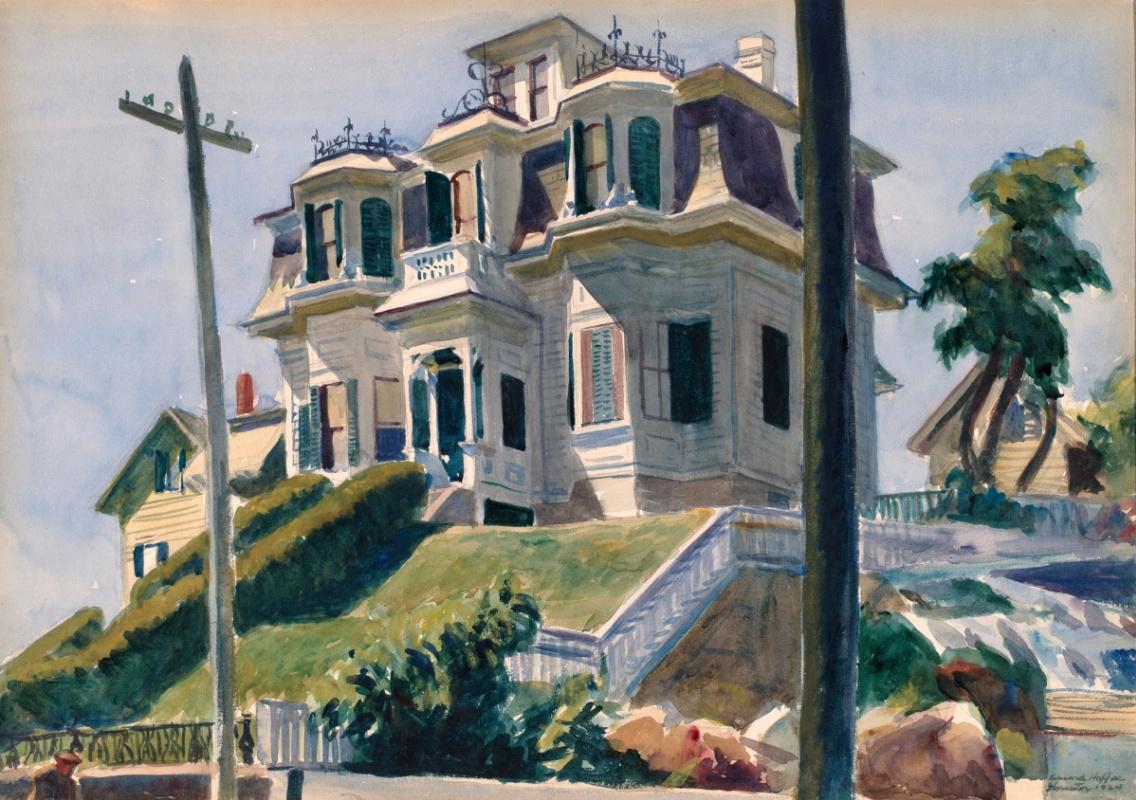 Edward Hopper. House Haskell