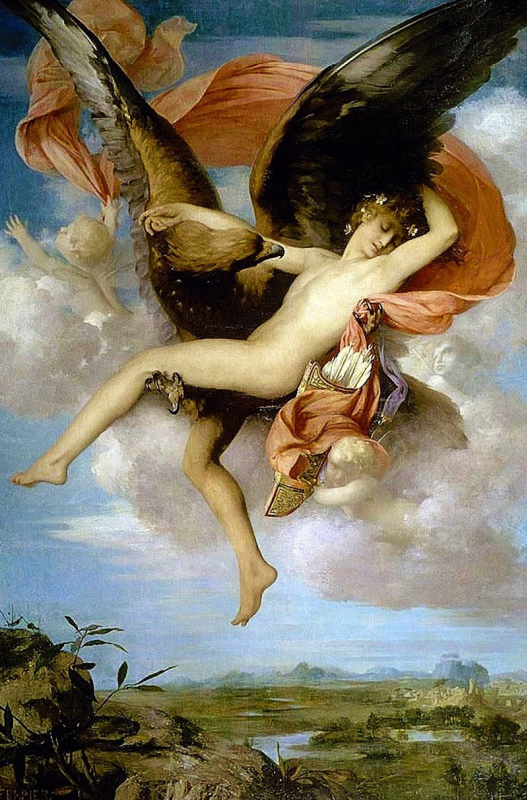 Gabriel Ferrier. The Abduction Of Ganymede