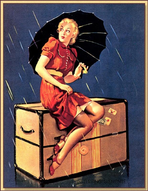 Джил Элвгрен. Под зонтом