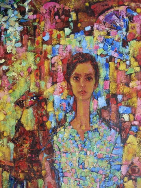 Natalia Valerievna Chepulskaya. Selfportrait