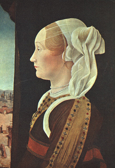 Роберти. Женский портрет