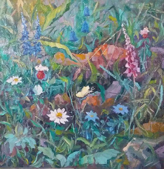 Valentin Nikolaevich Sudnitsyn. Flowers