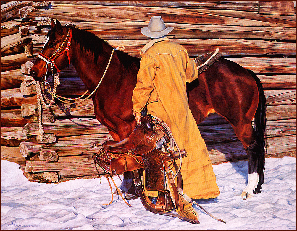 Энн Хансон. Конь