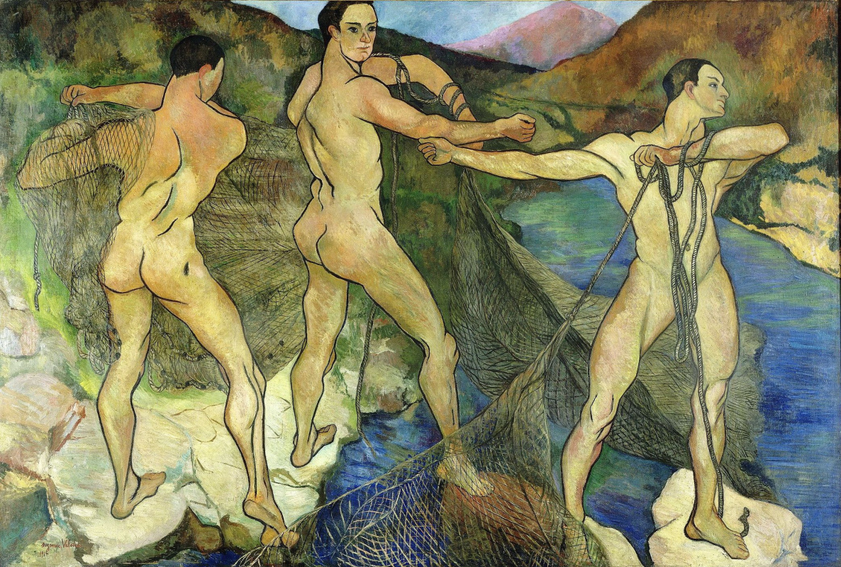 Suzanne Valadon. Casting the net