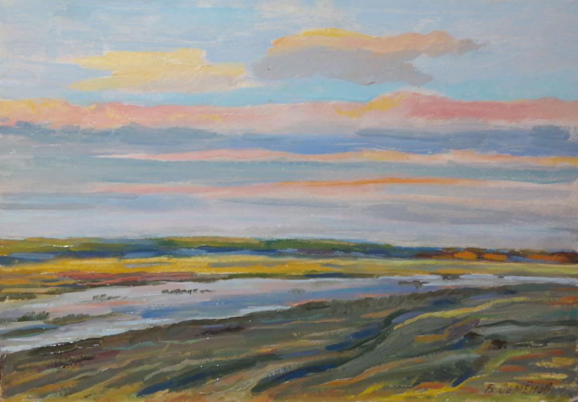 Valery Sergeevich Semenov. Spring dawn