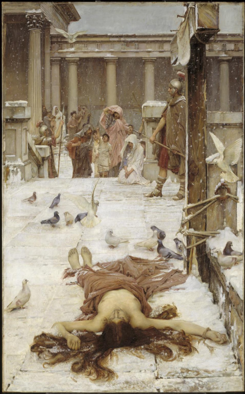 John William Waterhouse. Saint Eulalia
