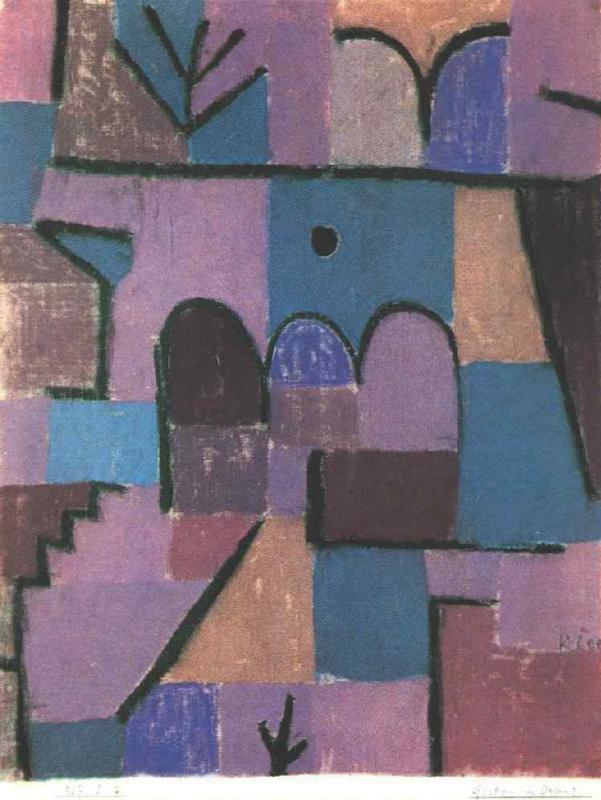 Paul Klee. Oriental garden