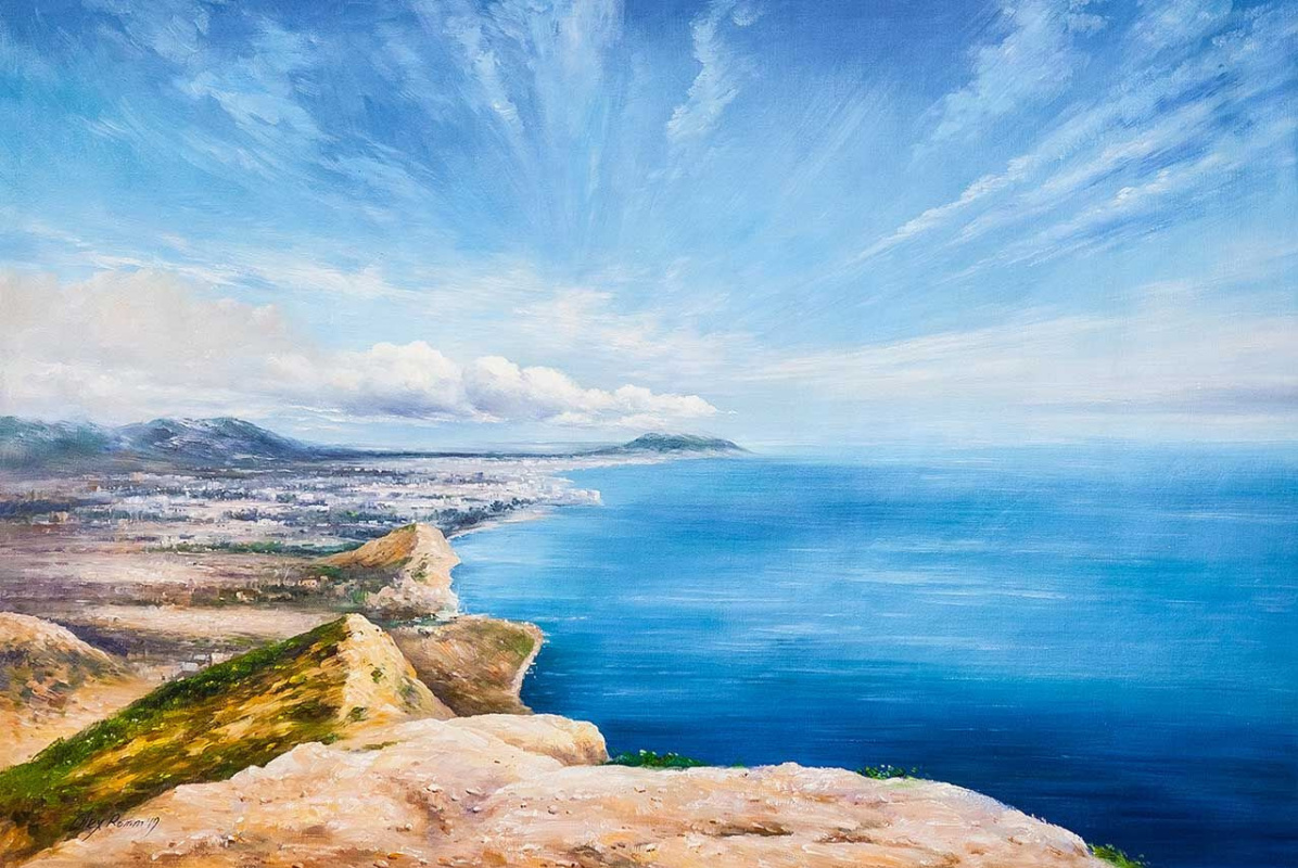 Alexander Romm. Where the sky meets the sea