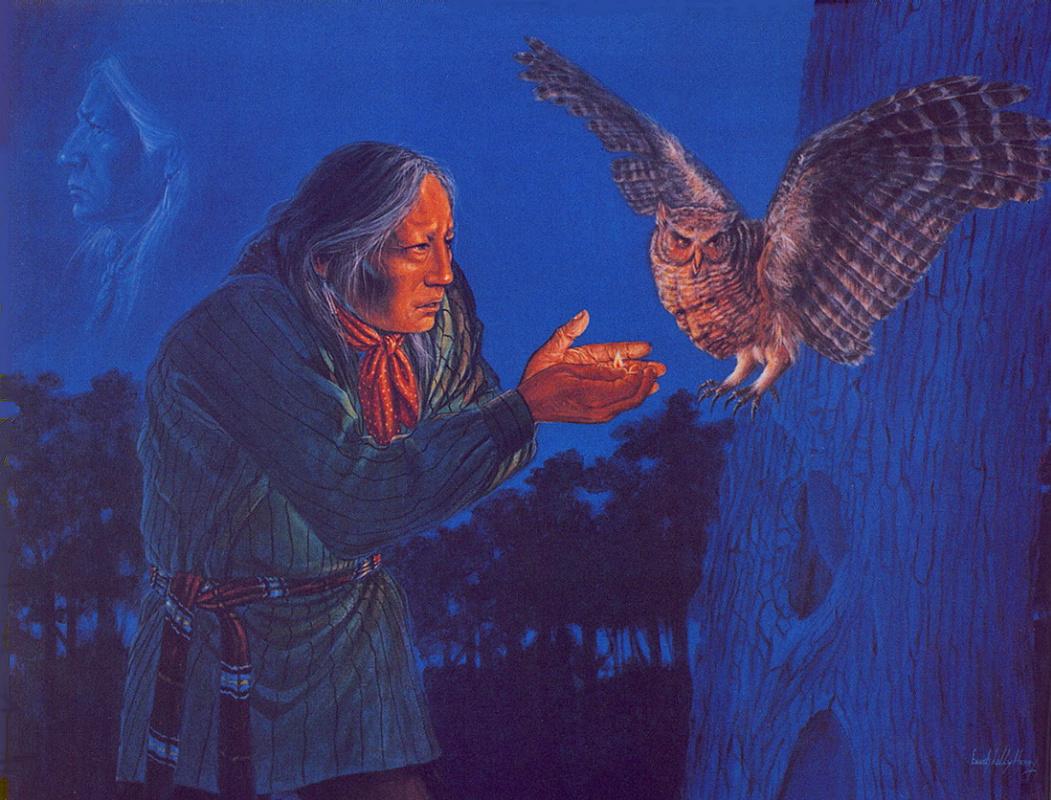 Енох Хани. Легенды совы