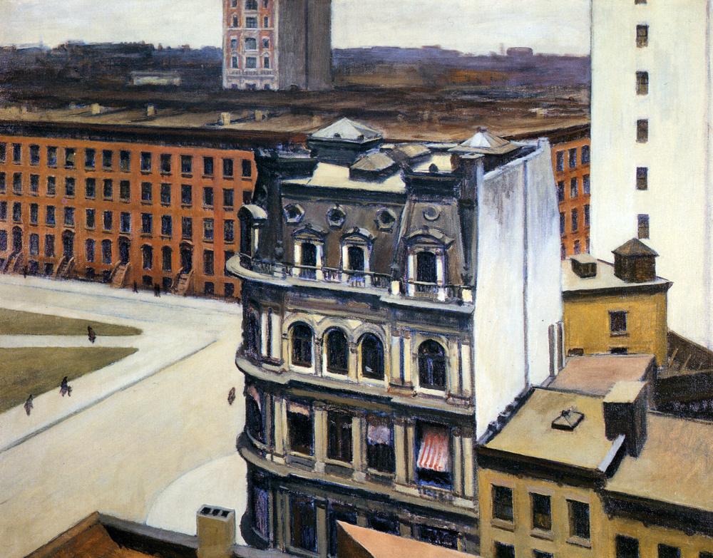 Edward Hopper. The city