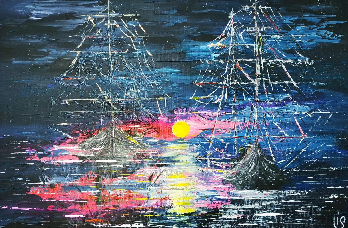 Irina Stukaneva. About pirates