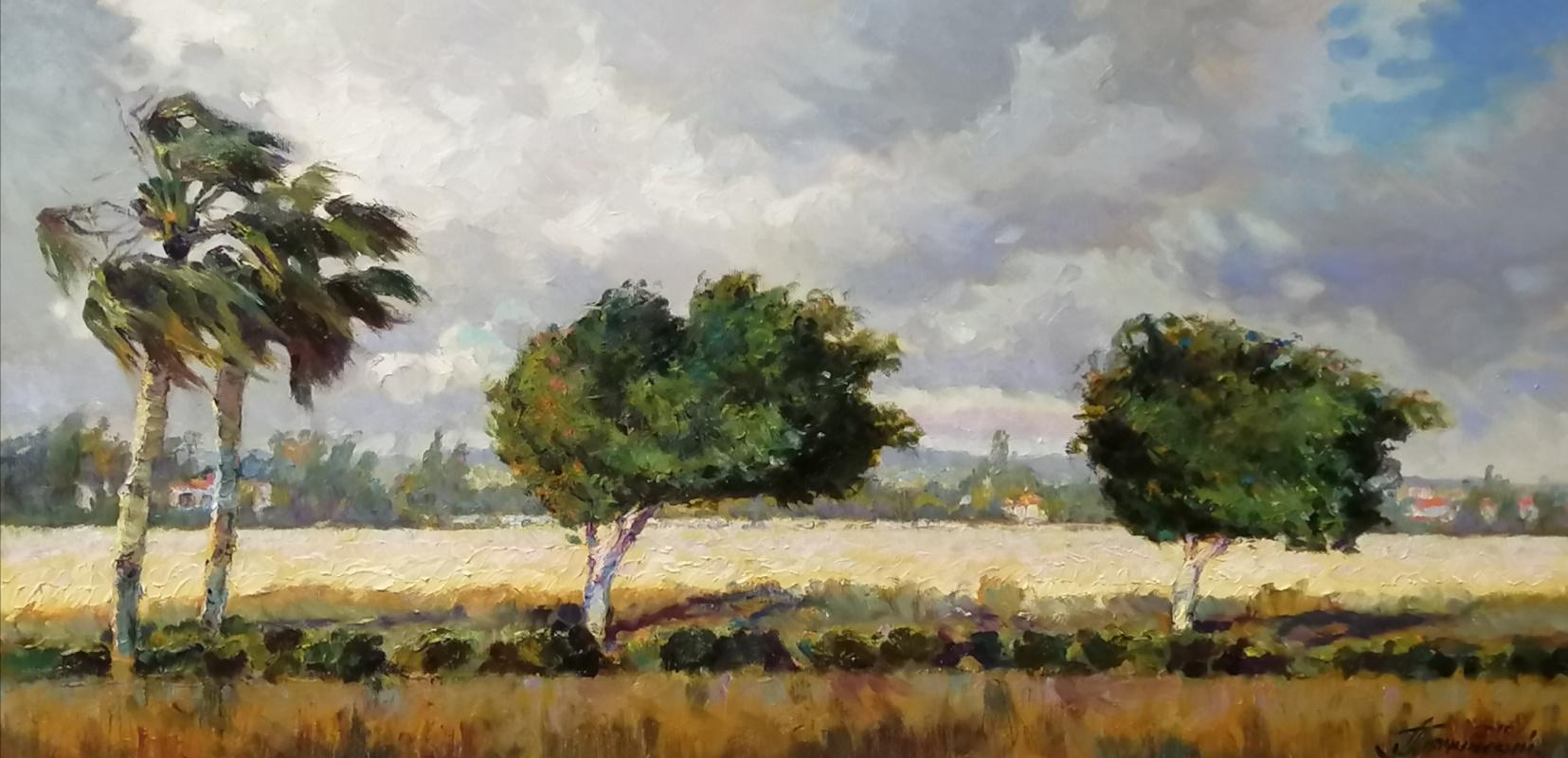George Lapchinsky. Wind