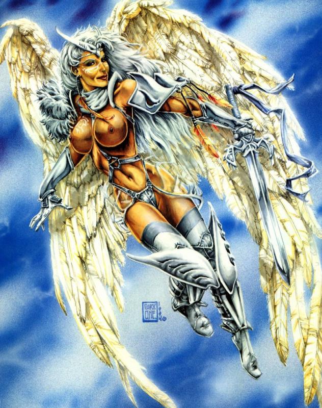 Грег Уильямс. Ангел