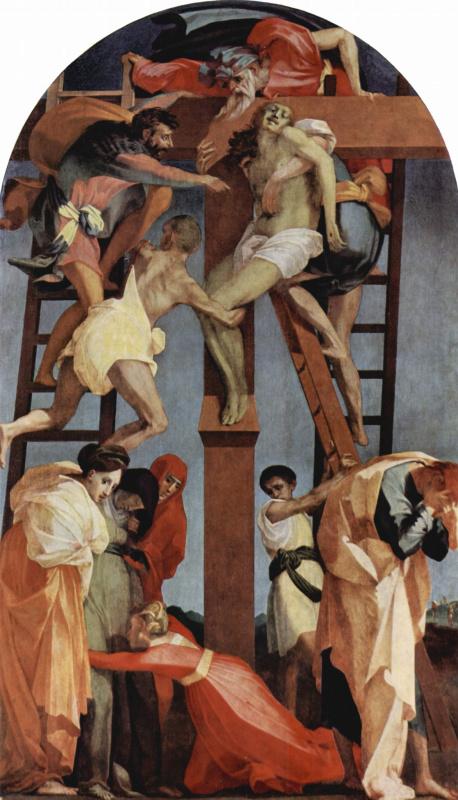 Россо Фьорентино. Снятие с креста