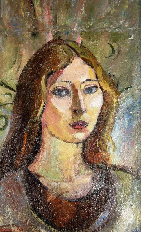 Liliana Nikolaevna Rastorgueva. Female portrait